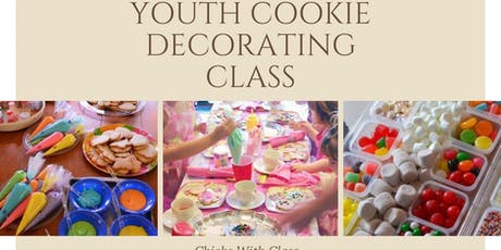 Mommys Sweet Treats Youth Cookie Decorating Class tickets