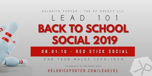 LEAD 101 Back to School Social