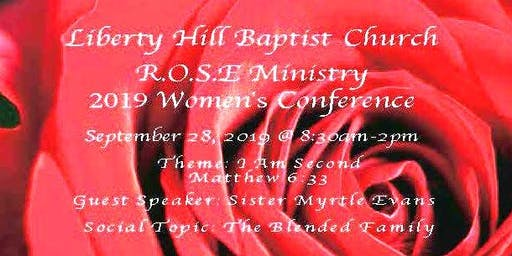 Liberty Hill Women's Conference 2019