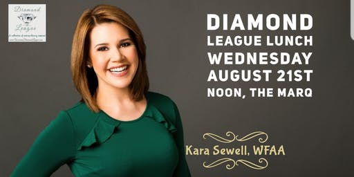 August Diamond League Lunch with Kara Sewell, WFAA