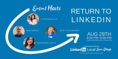 Return to LinkedIn - where it's no longer business as usual. tickets