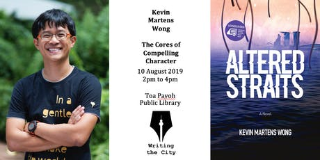 Writing the City - Cores of Compelling Character with Kevin Martens Wong tickets