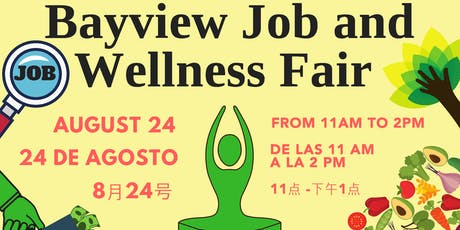 Bayview Job and Wellness Fair tickets