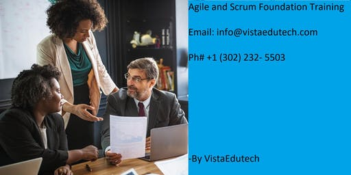 Agile & Scrum Classroom Training in Burlington, VT