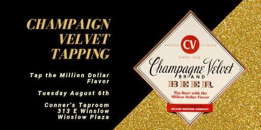 Champaign Velvet Tapping