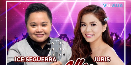 All Heart with Ice Seguerra and Juris tickets