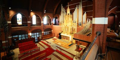 William Baker Festival Singers Sing Evensong at Historic St. Mary's