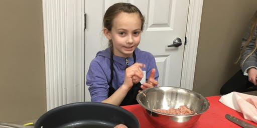 Kids Can Cook! - Making Meatballs from Scratch (Meal included)