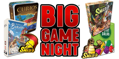 AEG Big Game Night @ Shall We Play? tickets