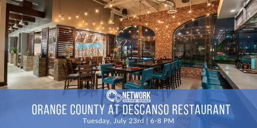 Network After Work Orange County at Descanso Restaurant