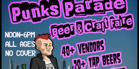 Punks Parade Beer & Craft Faire tickets