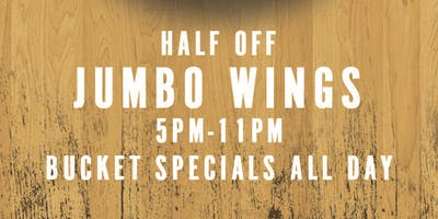 event image Jumbo Wings Monday