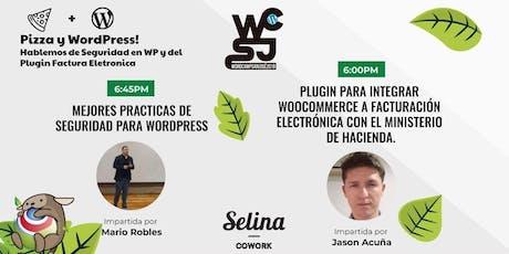 Pizza y WordPress Hablemos de Seguridad en WP y del Plugin Fact Electronica entradas