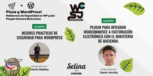 Pizza y WordPress Hablemos de Seguridad en WP y del Plugin Fact Electronica