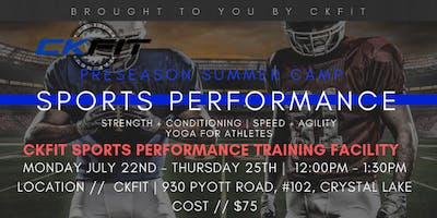 CKFIT Sports Performance Camp - Crystal Lake Raiders