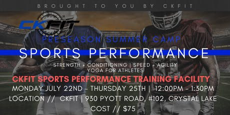 CKFIT Sports Performance Camp - Crystal Lake Raiders tickets