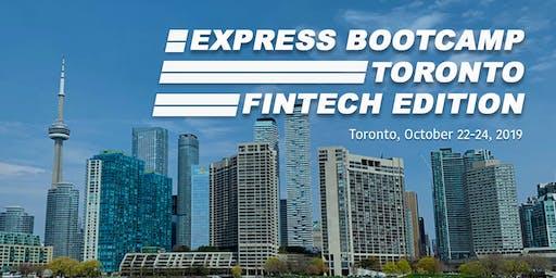 Express Bootcamp Toronto: Fintech Edition