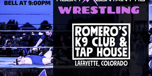 RMP Live Pro Wrestling from Romero's K9 Club and Tap House