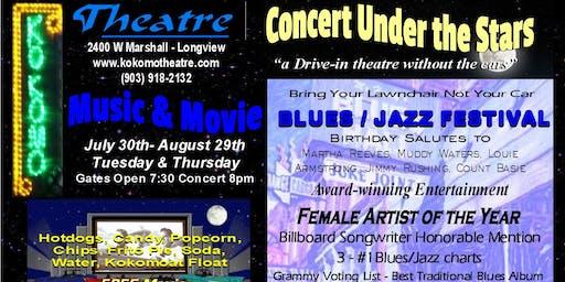 "Blues Jazz Festival ""Concert Under the Stars"" starring Kelli Grant"