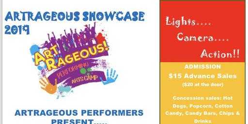 ArtRageous Performers Showcase