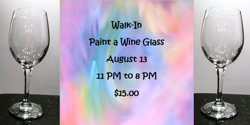 Walk-In: Paint a Wine Glass