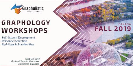 Graphology Workshop | Grapholistic Graphology Seminars Tour tickets