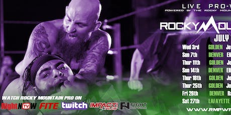 RMP LIVE Pro Wrestling TV Taping for RightNowTV/FITE.tv/Twitch tickets
