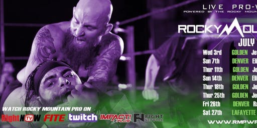 RMP LIVE Pro Wrestling TV Taping for RightNowTV/FITE.tv/Twitch