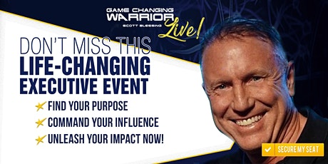 GAME-CHANGING WARRIOR LIVE! -- Executive Bootcamp tickets