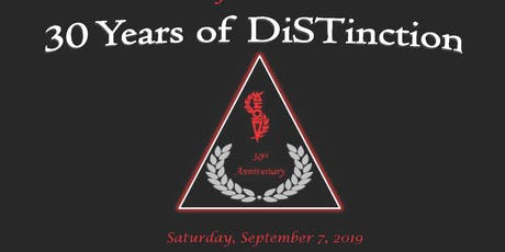 30 Years of DiSTinction tickets