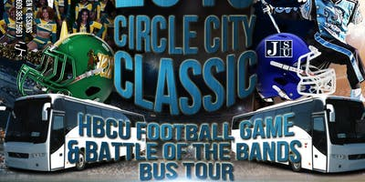 2019 Circle City Classic HBCU Football Game & Battle of the Bands Bus Trip to Indianapolis, IN from Pittsburgh, PA