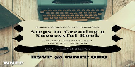 Lunch & Learn: Steps to Creating a Successful Business Book tickets