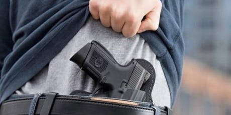 NRA CCW Instructor - All in 1 Weekend Class - includes BIT & Basic CCW Student Class tickets