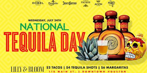 National Tequila Day Downtown Houston
