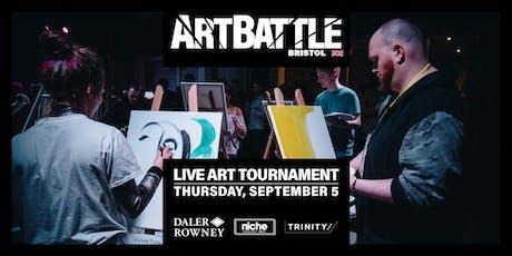 Art Battle Bristol - 5 September, 2019 tickets