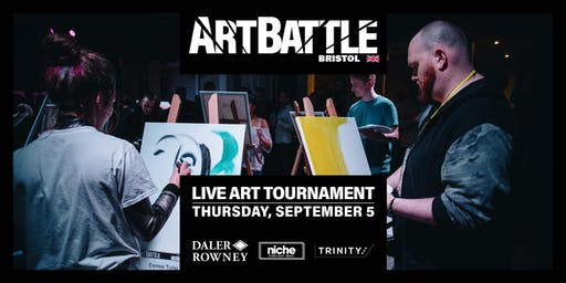 Art Battle Bristol - 5 September, 2019