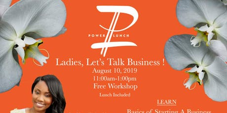 """Punch"" Women's Power Lunch tickets"