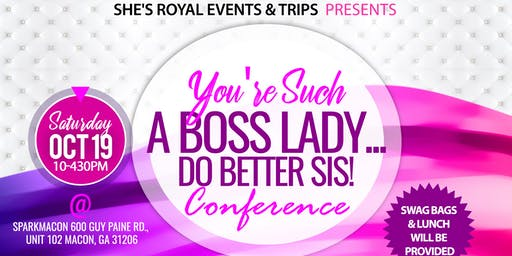 Do Better Sis! Conference