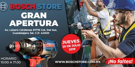 Inauguración Bosch Store tickets
