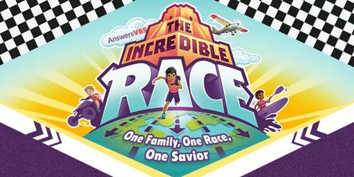 VBS 2019 - The Incredible Race - One Family, One Race, One Savior