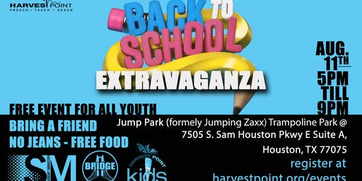 Harvest Point Back To School Extravaganza