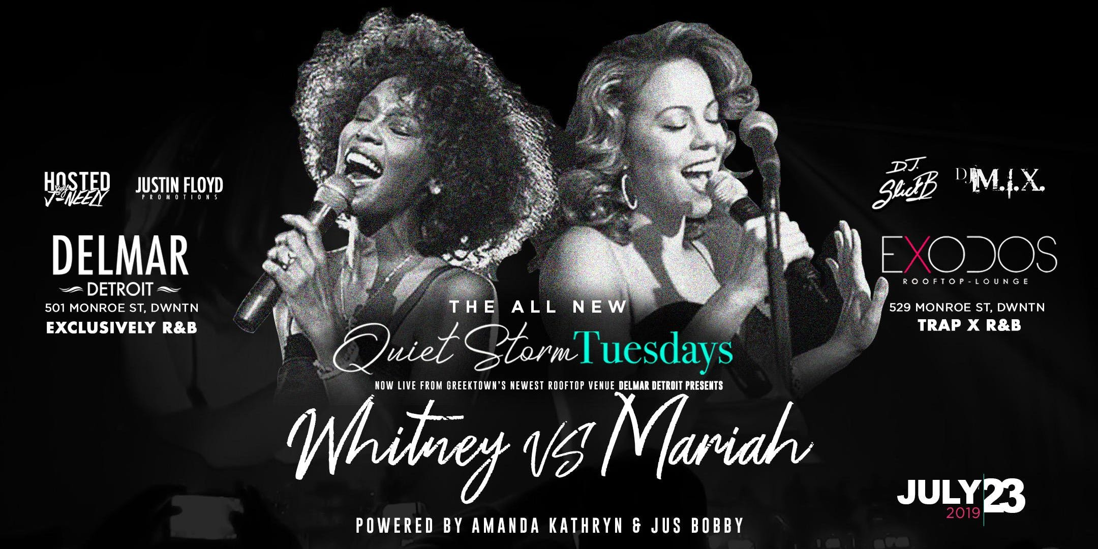 Quiet Storm Tuesday's: Whitney vs Mariah
