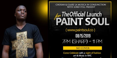 """Chosan """" Paint Soul.Co """" NYC Launch Party tickets"""