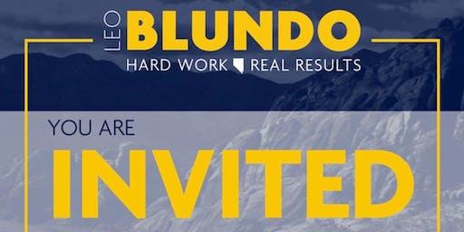 Leo Blundo Special Announcement