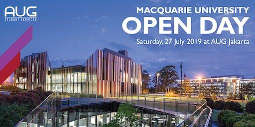 AUG x Macquarie University Open Day