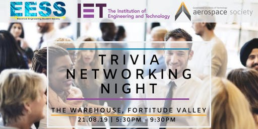IET, QUT Aerospace & EESS Industry Trivia Night