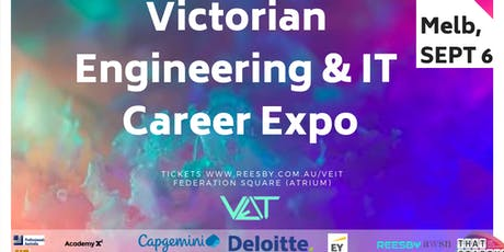 Victorian Engineering and IT Graduate Careers Expo (SEPT 6th 2019) tickets