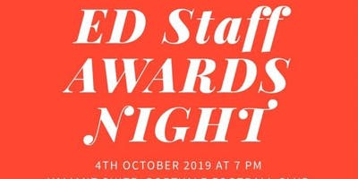 ED Staff Awards