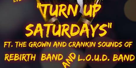 Turn up Saturdays tickets