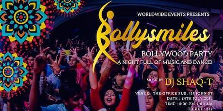 Bollysmiles - Bollywood Dance Party tickets